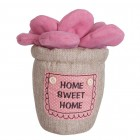 "Opritor pentru usa ""Pink Flower"", Clayre & Eef"