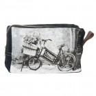 Geanta pentru cosmetice Retro Bike, Clayre & Eef