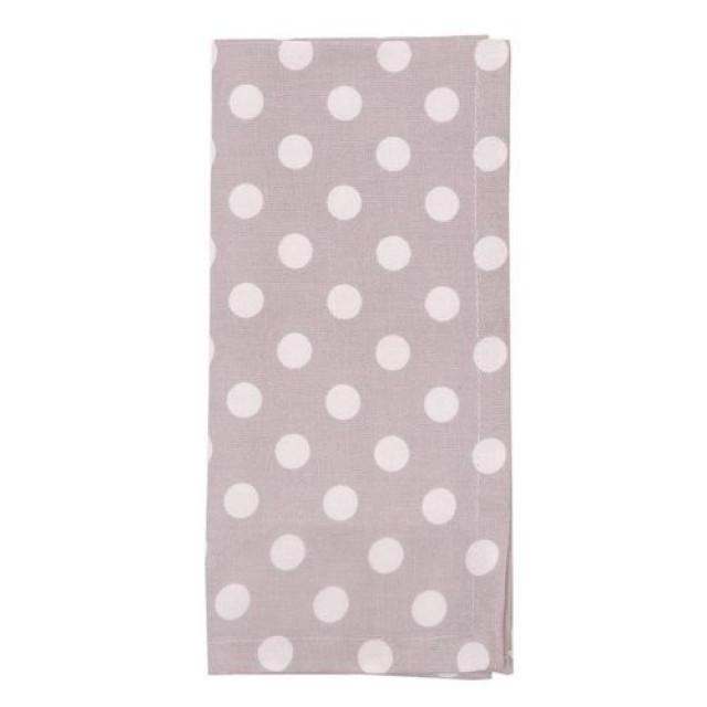 """Servet de masa textil """"Kitchen Princess"""" 40*40 cm, Clayre & Ee"""
