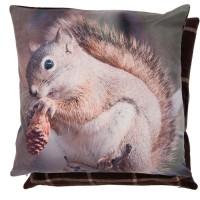 """Fata de perna """"Squirrel"""" 45*45 cm, Clayre & Eef"""