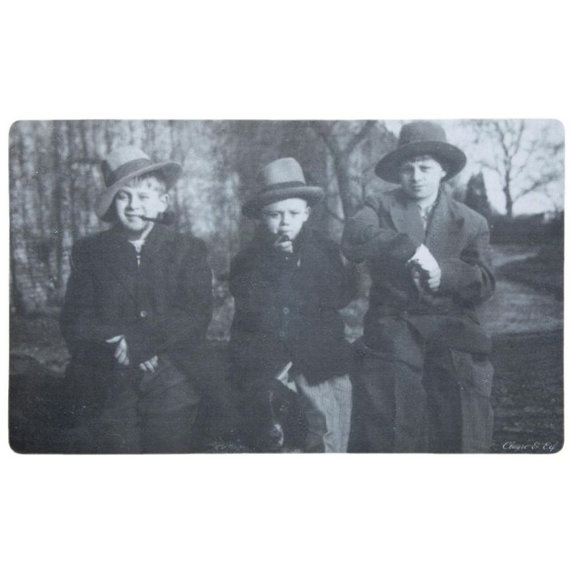 "Covoras de intrare ""Young Guys"", 74x44 cm, Clayre & Eef"
