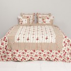 "Cuvertura ""Red Roses"" 180*260 cm, Clayre & Eef"