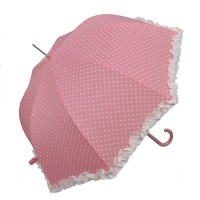 "Umbrela ""White Dots - Pink"", Clayre & Eef"