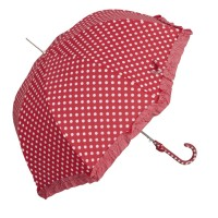 """Umbrela """"White Dots - Red"""", Clayre & Eef"""