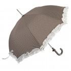 "Umbrela pentru copii ""White Dots - Brown"", Clayre & Eef"