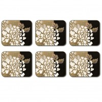 Glamour of Gold Coasters - Set 6 piese