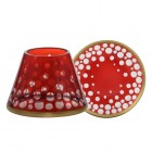 Accesoriu Borcan Mic Red and Gold Snowfall, Yankee Candle