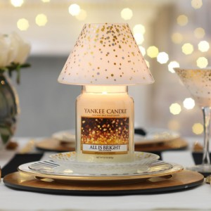 Set Cadou Lumanare Borcan Mare All is Bright si set accesorii Holiday Party, Yankee Candle