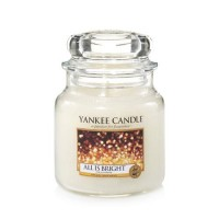 Lumanare Parfumata Borcan Mediu All Is Bright, Yankee Candle