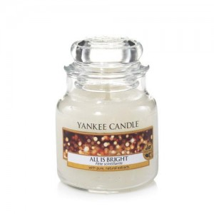 Lumanare Parfumata Borcan Mic All Is Bright, Yankee Candle