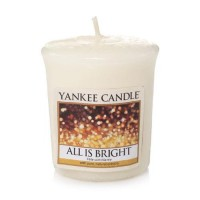 Lumanare Parfumata Votive All is Bright, Yankee Candle
