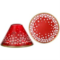 Accesoriu Borcan Mare/Mediu Red and Gold, Yankee Candle