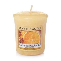 Lumanare Parfumata Votive Star Anise & Orange, Yankee Candle