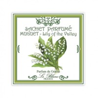 Plic parfumat pentru dulap Lily of the Valley, Le Blanc