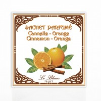 Plic parfumat Cannelle Orange, Le Blanc