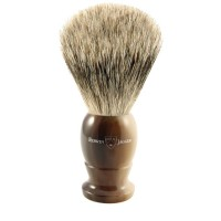 Pamatuf pentru barbierit Light Horn, Best Badger, Edwin Jagger
