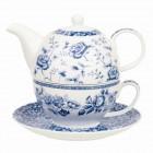Tea for One Blue Story - Blue Garden, Churchill