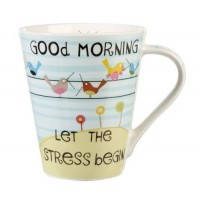 "Cana The Good Life ""Good Morning, let the STRESS begin"" 360ml, Churchill"