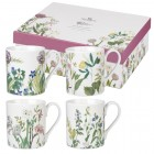 """Set 4 cani The Royal Horticultural Society """"Himalayan Flowers"""" 250ml, Churchill"""
