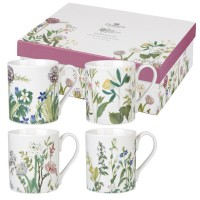 Set 4 cani Himalayan Flowers