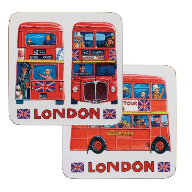 "Coaster James Sadler ""London Tour Bus"", Churchill"