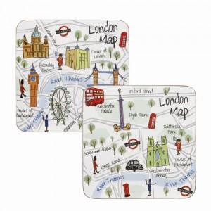 Coaster London Maps