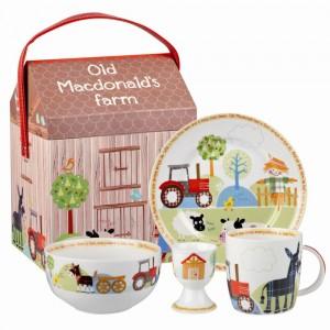 Set mic dejun Little Rhymes - Old MacDonlad's Farm
