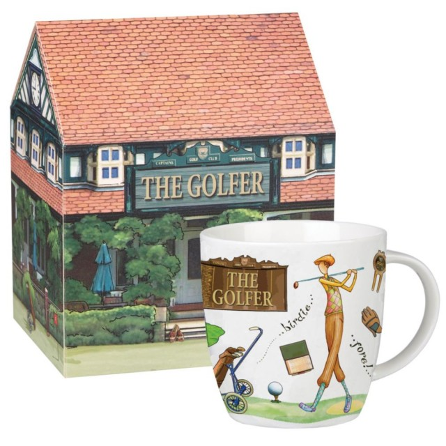 "Cana At Your Leisure ""The Golfer"" 400ml in cutie cadou, Churchill"