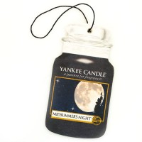 Odorizant Auto Car Jar Midsummers Night, Yankee Candle