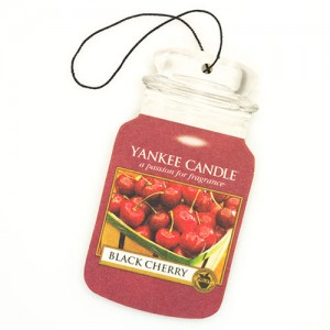 Odorizant Auto Car Jar Black Cherry, Yankee Candle