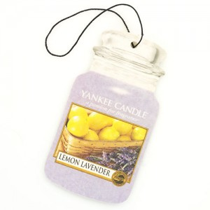 Odorizant Auto Car Jar Lemon Lavender, Yankee Candle
