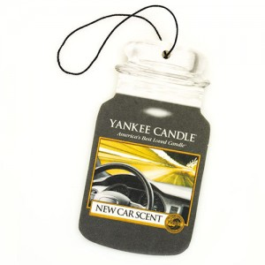 Odorizant Auto Car Jar New Car, Yankee Candle