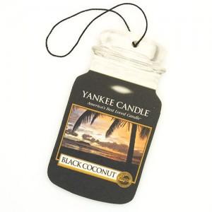 Odorizant Auto Car Jar Black Coconut, Yankee Candle