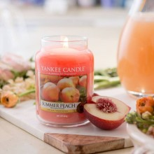 Summer Peach Large Jar