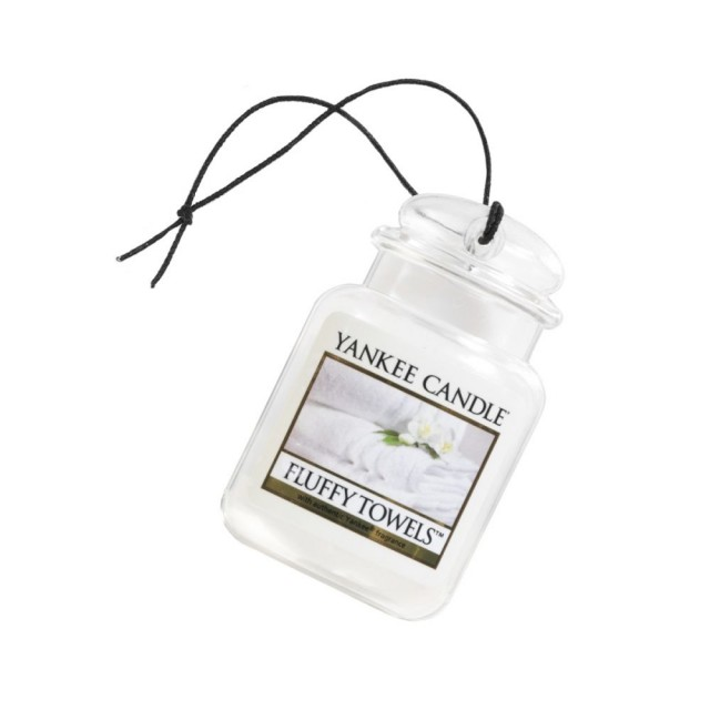Odorizant Auto Car Jar Ultimate Fluffy Towels, Yankee Candle