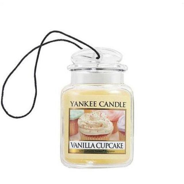 Odorizant Auto Car Jar Ultimate Vanilla Cupcake, Yankee Candle