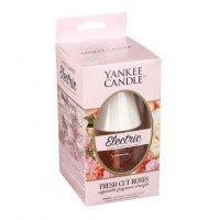 Aparat electric cu rezerva Fresh Cut Roses, Yankee Candle