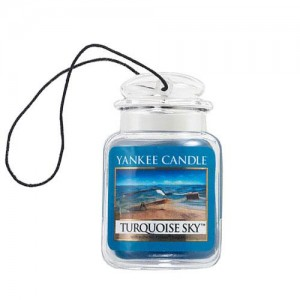 Odorizant Auto Car Jar Ultimate Turquoise Sky, Yankee Candle