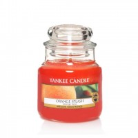 Lumanare Parfumata Borcan Mic Orange Splash, Yankee Candle