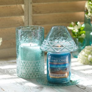 Set The Turquoise Sky of  Cote D'Azur, Yankee Candle