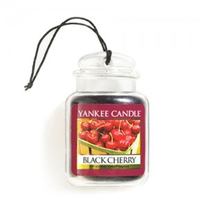 Odorizant Auto Car Jar Ultimate Black Cherry, Yankee Candle