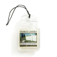 Odorizant Auto Car Jar Ultimate Clean Cotton, Yankee Candle