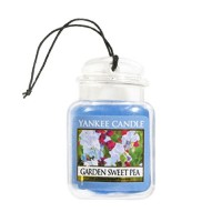 Odorizant Auto Car Jar Ultimate Garden Sweet Pea, Yankee Candle