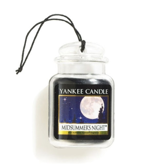 Odorizant Auto Car Jar Ultimate Midsummer's Night, Yankee Candle