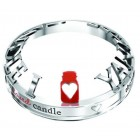 Accesoriu Large/ Medium Jar - Illumalid Chrome