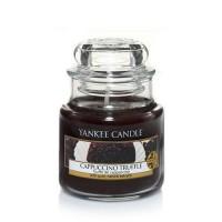 Lumanare Parfumata Borcan Mic Cappuccino Truffle, Yankee Candle