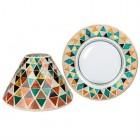 Accesoriu Large/ Medium Jar - Corsica Mosaic