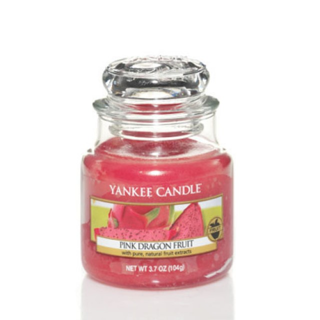 Lumanare Parfumata Borcan Mic Pink Dragonfruit, Yankee Candle