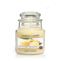 Lumanare Parfumata Borcan Mic Sicilian Lemon, Yankee Candle