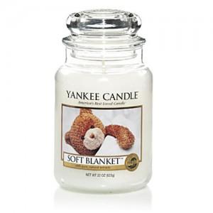 Lumanare Parfumata Borcan Mare Soft Blanket, Yankee Candle
